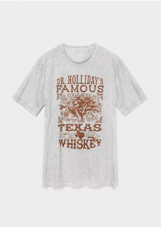 Dr. Holliday's Famous Texas Whiskey T-Shirt