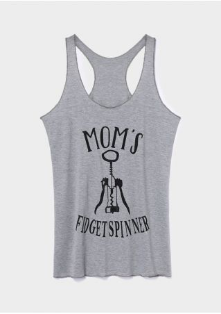 Mom's Fidget Spinner Tank
