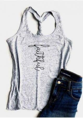 Faithful Twist O-Neck Tank