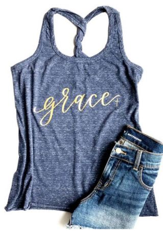 Grace Twist O-Neck Tank