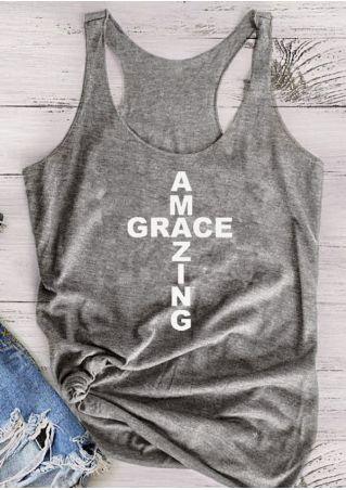 Amazing Grace Racerback Tank
