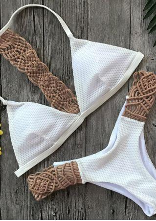 Splicing Sexy Bikini Set