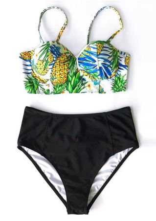 Pineapple Sexy Bikini Set