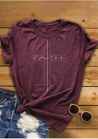 Faith O-Neck Short Sleeve T-Shirt
