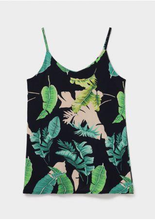 Leaf Printed Camisole