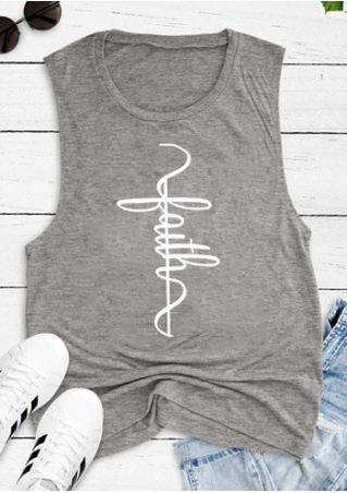 Faith O-Neck Tank