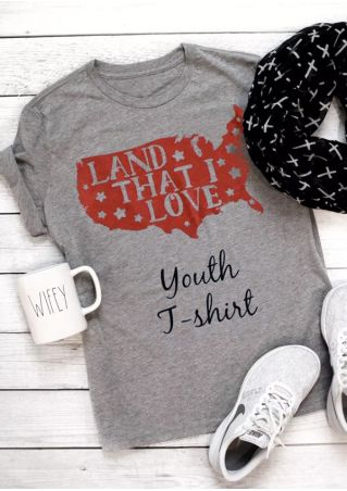 Land That I Love Youth T-Shirt