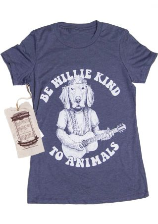 Be Willie Kind To Animals T-Shirt