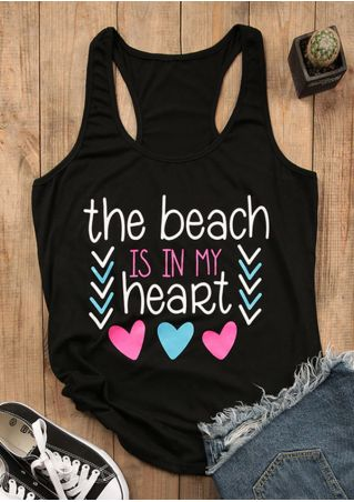 The Beach Is In My Heart Tank