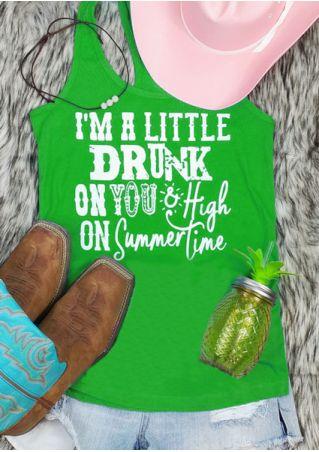 I'm A Little Drunk Tank