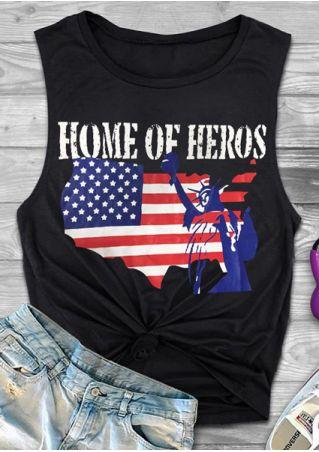 Home Of Heros American Flag Tank