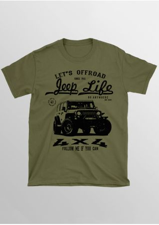 Let's Offroad Jeep Life T-Shirt