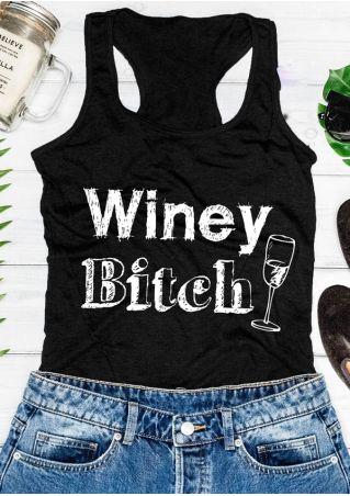 Winey Bitch Racerback Tank
