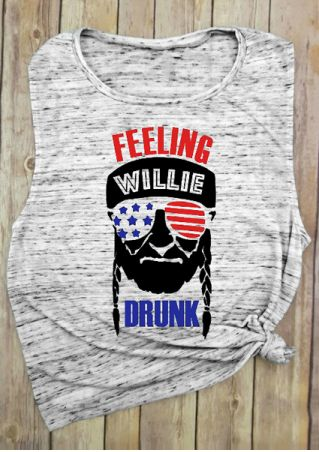Feeling Willie Drunk O-Neck Tank