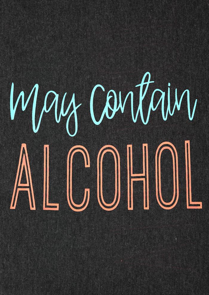 May Contain Alcohol Tank Fairyseason