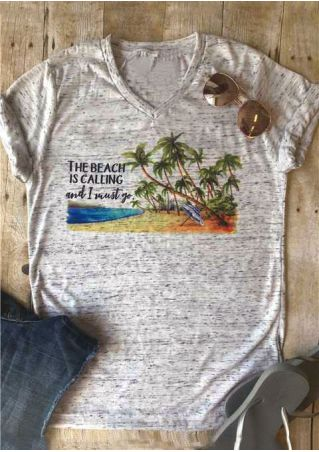The Beach Is Calling And I Must Go T-Shirt