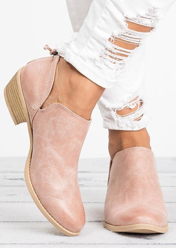 New Solid Round Toe Flats, Flats