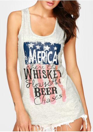 Merica Whiskey Beer Tank