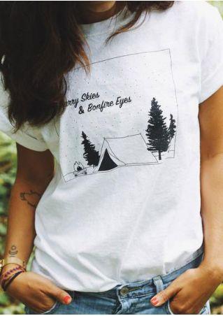 Starry Skies & Bonfire Eyes T-Shirt
