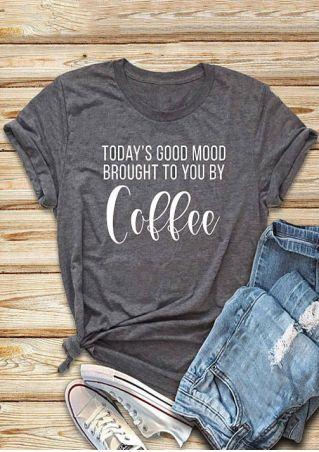 Today's Good Mood Coffee T-Shirt