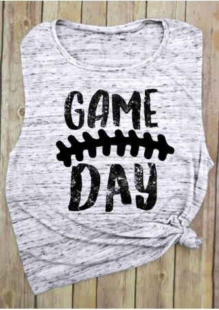 Game Day O-Neck Tank