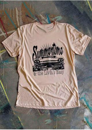 Summertime & The Livin's Easy T-Shirt