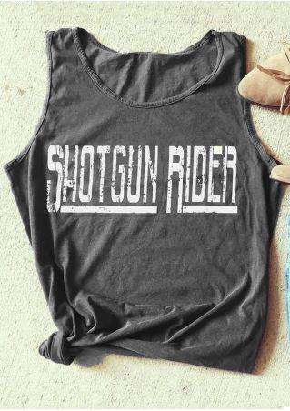 Shotgun Rider O-Neck Tank
