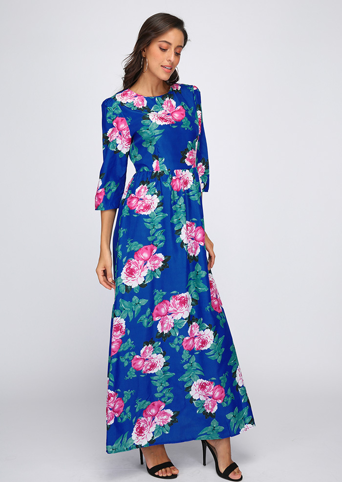Image of Boho Floral Maxi Dress