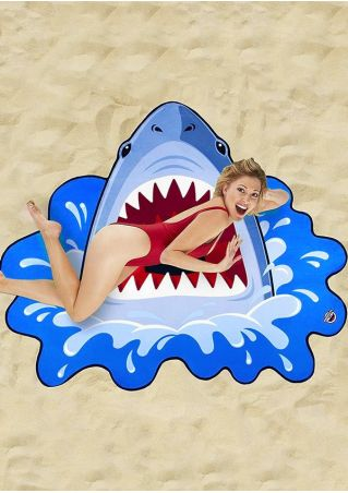 Shark Beach Blanket