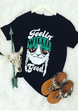 Feelin' Willie Good Short Sleeve T-Shirt