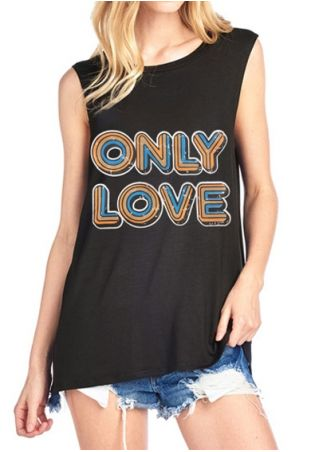 Only Love O-Neck Tank