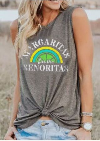 Margaritas For The Senoritas Tank