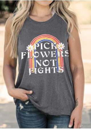Pick Flowers Not Fights Tank