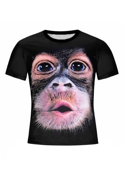 Orangutan O-Neck Short Sleeve T-Shirt