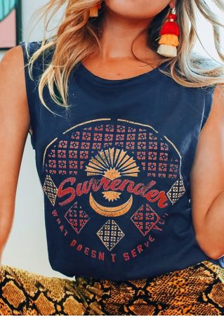 Surrender O-Neck Casual Tank