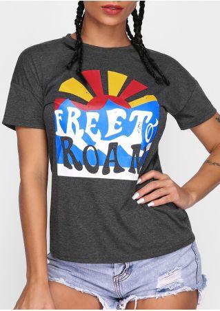 Free To Roam O-Neck T-Shirt