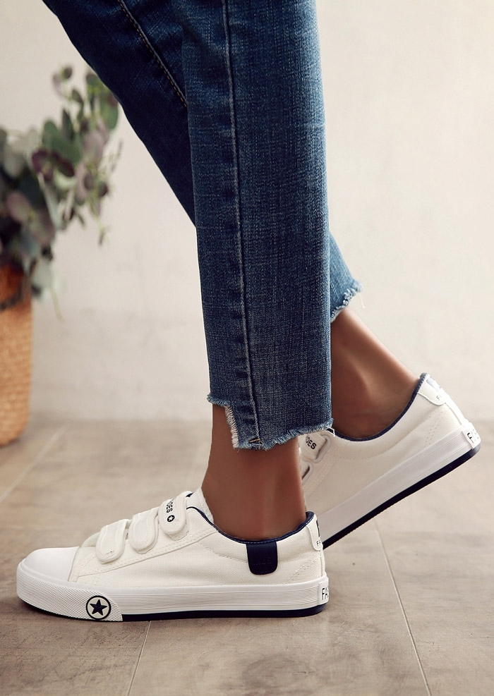 Image of Fashion Shoes Velcro Sneakers