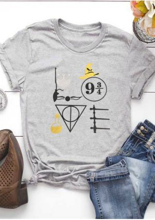 Love Harry Potter O-Neck T-Shirt