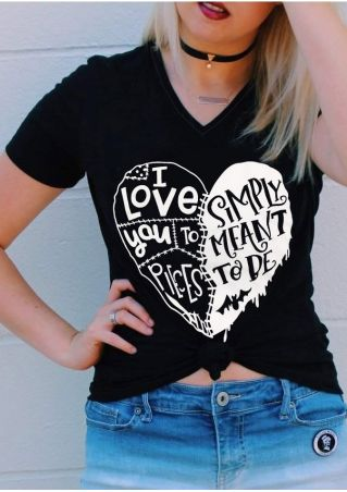 Simply Meant To Be T-Shirt without Necklace