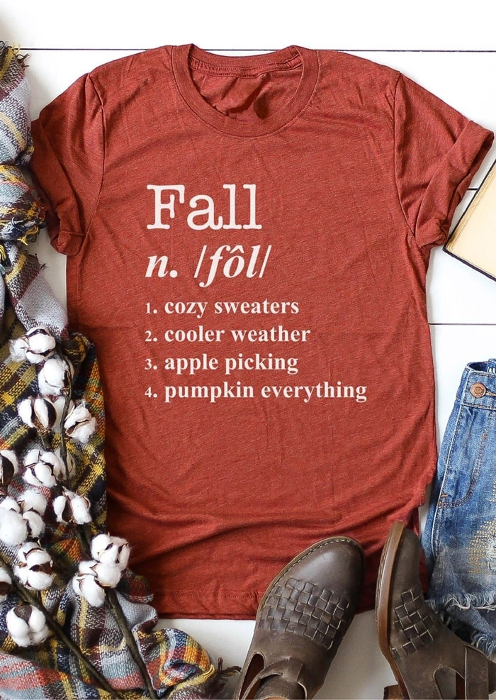 Fall Cozy Sweaters Cooler Weather T-Shirt