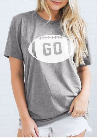 1dc98d6b2 Touchdown Mustangs Football O-Neck Baseball T-Shirt - Fairyseason