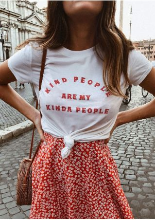 Kind People Are My Kinda People T-Shirt Tee