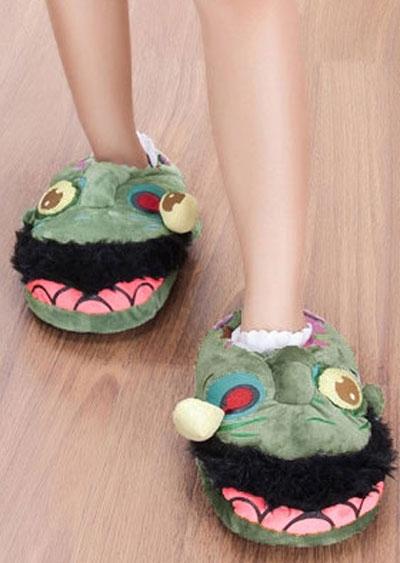 Image of Halloween Cosplay Zombie Slippers