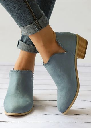 Round Toe Heeled Boots