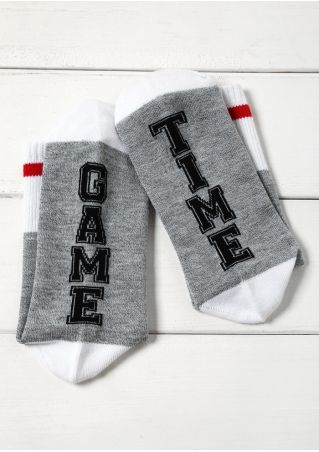 Game Time Casual Socks
