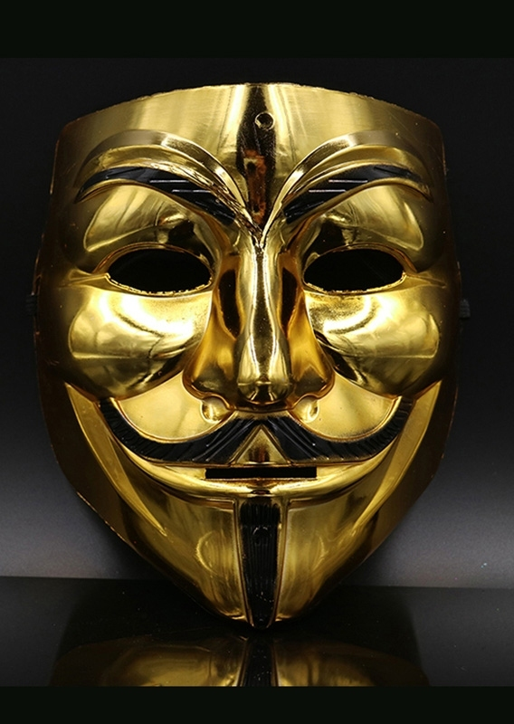 Image of Halloween Masquerade Cosplay V For Vendetta Mask