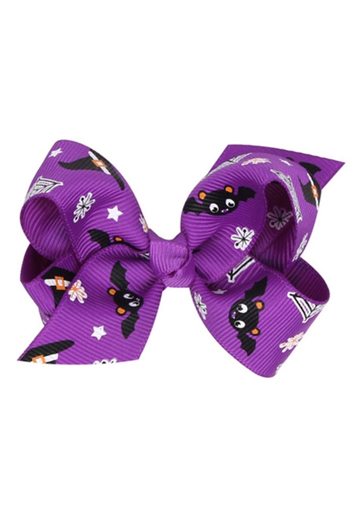 Image of Kid Halloween Bowknot Hair Accessory