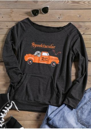 Wishing You A Spooktacular Halloween Sweatshirt