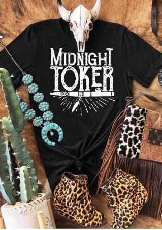 Midnight Toker Short Sleeve T-Shirt Tee