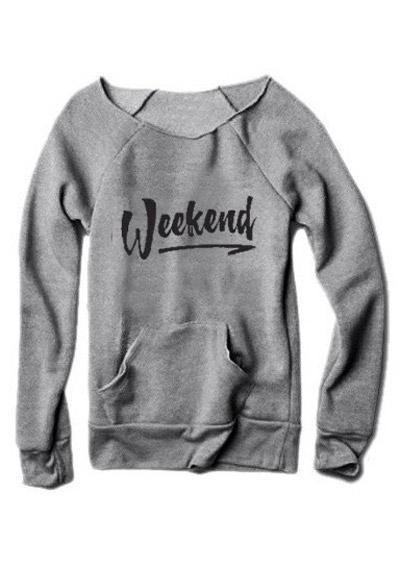 Weekend Pocket Sweatshirt